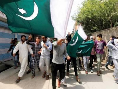 مقبوضہ اور آزاد کشمیر میں بھی یوم آزادی پاکستان جوش و خروش سے منایا جارہا ہے
