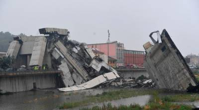 اٹلی، ہائی وے پرپل گر گیا، 22 افراد ہلاک، تعداد بڑھنے کا خدشہ