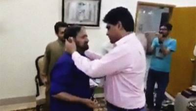 تشدد کا نشانہ بننے والے شہری نے پی ٹی آئی کے رکن اسمبلی کو معاف کر دیا