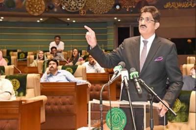 پیپلز پارٹی کے مراد علی شاہ سندھ کے وزیراعلیٰ منتخب