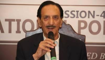 مسلم لیگ (ن) نے راجہ ظفر الحق کو سینیٹ میں اپوزیشن لیڈر نامزد کر دیا