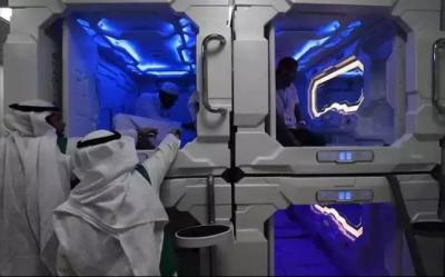 سعودی حکومت کا عازمین حج کے لیے کیپسول ہوٹل متعارف