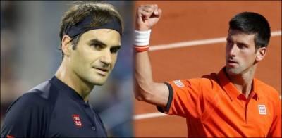 نوواک جوکووچ نے فیڈرر کو ہرا کر سنسناٹی ٹینس ٹورنامنٹ اپنے نام کر لیا
