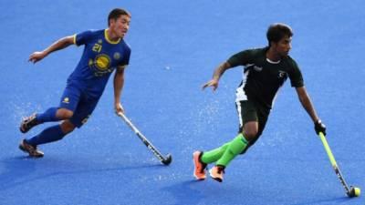 ایشین گیمز : پاکستانی ہاکی ٹیم نے قازقستان کو 0-16 سے شکست دیدی