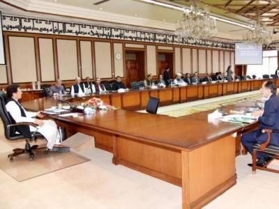 عمران خان کی زیر صدارت وفاقی کابینہ کا اجلاس ، مختلف امور پر تفصیلی بریفنگ