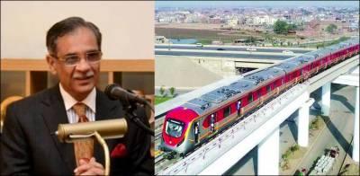 اورنج لائن ٹرین منصوبے کی تکمیل کے لیے 6 ماہ انتظار نہیں کیا جاسکتا، چیف جسٹس