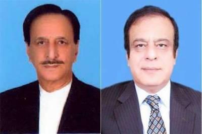 پی ٹی آئی کی شبلی فراز کے سینیٹ میں قائد ایوان اور ن لیگ کے راجہ ظفر الحق اپوزیشن لیڈر نامزد