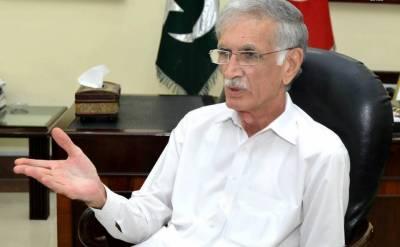 پرویز خٹک نے بطور وفاقی وزیر دفاع عہدے کا چارج سنبھال لیا