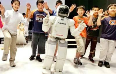 اب جاپانی بچے سیکھیں گے روبوٹوں سے انگریزی