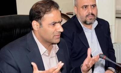 عابد شیر علی نے این اے 124 کے ضمنی انتخاب کیلئے کاغذات نامزدگی حاصل کرلیے