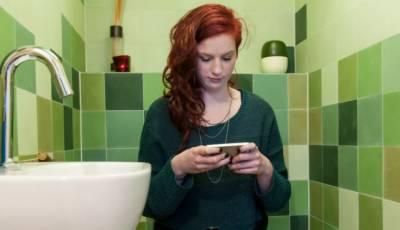 40فیصد افراد باتھ روم میں اپنا ای میل اکاونٹ چیک کرتے ہیں، سروے