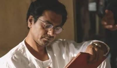 بالی ووڈ فلم 'منٹو' میں مرکزی کردار ادا کرنیوالے نواز الدین صدیقی نے صرف ایک روپیہ معاوضہ لیا