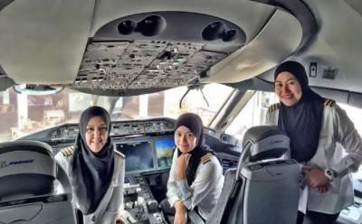 گاڑی چلانے کے بعد سعودی خواتین کو جہاز اڑانے کی بھی اجازت