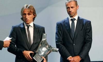 موڈرچ یوئیفا کے سال کے بہترین کھلاڑی کا ایوارڈ لے اڑے