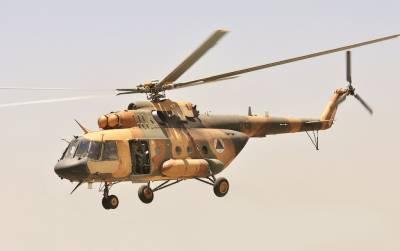 افغان صوبے بلخ میں فوجی ہیلی کاپٹر گر کر تباہ