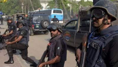 محرم الحرام سے قبل پشاورپولیس ان ایکشن،سیکورٹی فورسز کے ساتھ مشترکہ آپریشن