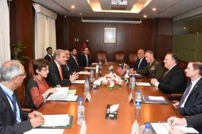 پاکستان اور امریکا کے درمیان وفود کی سطح پر دفتر خارجہ میں مذاکرات جاری
