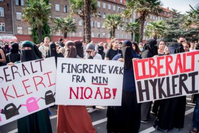 ڈنمارک میں نقاب کرنے پر مسلمان خاتون کو جرمانہ