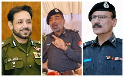 وفاقی حکومت نے تین صوبوں کے انسپکٹر جنرل پولیس تبدیل کر دیے