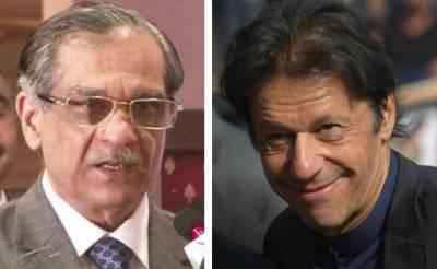 وزیراعظم عمران خان اورچیف جسٹس میاں ثاقب کے درمیان آج ملاقات متوقع
