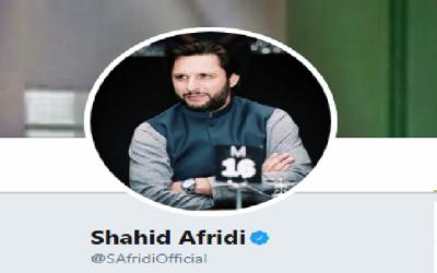 شاہد آفریدی نے ٹیبل ٹینس کھلاڑی مہک انور کے علاج کا اعلان کردیا