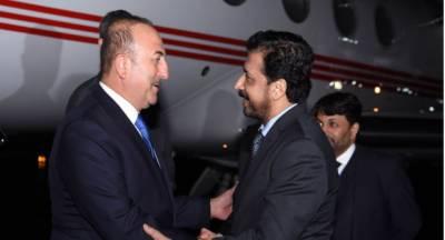 ترک وزیر خارجہ مولود چاوش اولو وفد کے ہمراہ پاکستان پہنچ گئے
