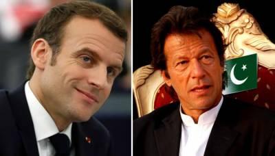 فرانسیسی صدر نے وزیراعظم عمران خان کی دورہ پاکستان کی دعوت قبول کر لی
