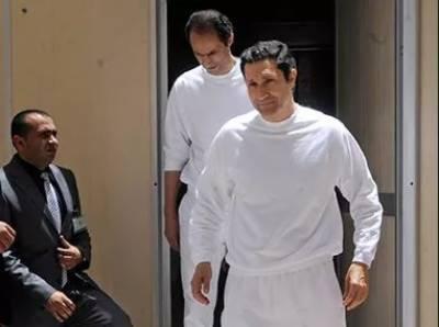 سابق مصری صدر حسنی مبارک کے دونوں بیٹے احاطہ عدالت سے گرفتار