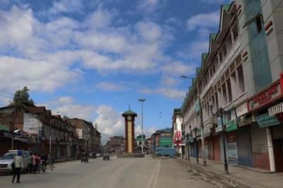 مقبوضہ کشمیر میں 6 نوجوانوں کی شہادت پر مکمل شٹر ڈاؤن