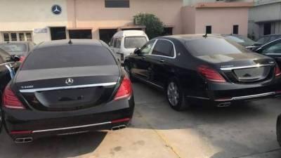 وزیراعظم ہاؤس میں موجود چار بلٹ پروف مرسیڈیز گاڑیاں نیلام