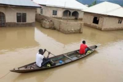 نائیجیریا، شدید بارشوں اور سیلاب کی زد میں آ کر 100 سے زائد افراد ہلاک