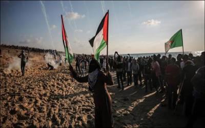 غزہ: اسرائیلی فوج کے فضائی حملے میں 2 فلسطینی شہید