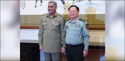 پاکستانی اور چینی افواج کا مشترکہ چیلنجزسے نمٹنے کے لئے تعاون بڑھانے کا فیصلہ