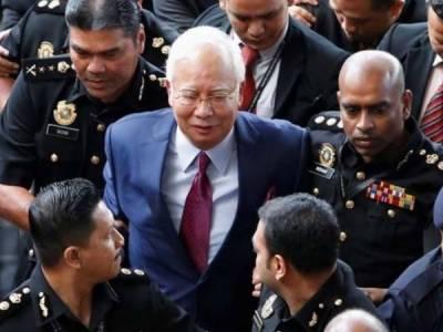 ملائیشیا کے سابق وزیراعظم نجیب رزاق کو گرفتار کر لیا گیا