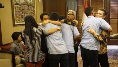 فلپائنی عسکریت پسندوں کی قیدسے 3 انڈونیشی ماہی گیر رہا