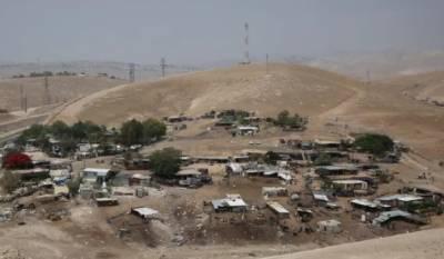 یورپی ممالک کا اسرائیل سے فلسطینی دیہات مسمار نہ کرنے کا مطالبہ