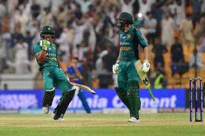 ایشیا کپ:پاکستان کی افغانستان کو 3 وکٹوں سے شکست،ڈی جی آئی ایس پی آر کی مبارکباد