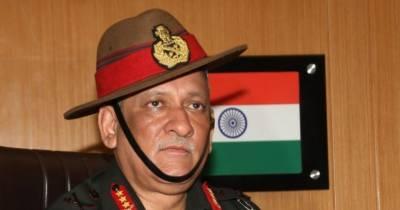 پاکستان کے ساتھ مذاکرات صحیح نہیں، مودی سرکار کا فیصلہ درست ہے، بھارتی آرمی چیف
