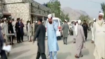 لنڈی کوتل میں مٹی کا تودہ گرنے سے 4 افراد جاں بحق