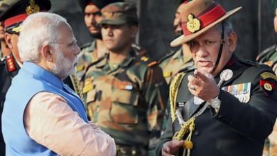 ہمیں ایک اورسرجیکل سٹرائیک کی ضرورت ہے:بھارتی آرمی چیف بپن راوت