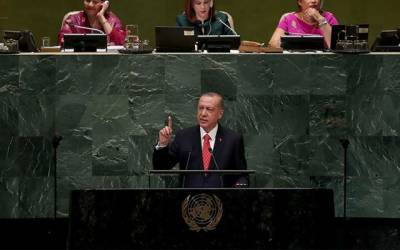 اقوام متحدہ میں تبدیلی ضروری ہے ورنہ یہ ناکام ادارہ کہلائے گا، ترک صدر