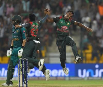 ایشیا کپ سپر فور،بنگلہ دیش نے پاکستان کو 37 رنز سے ہراکر فائنل میں جگہ بنالی