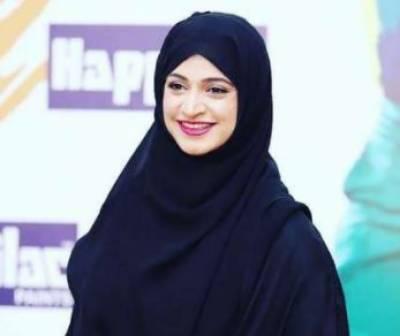 اداکارہ نور بخاری نے ڈیمز فنڈ میں ایک لاکھ روپے جمع کرا دیئے