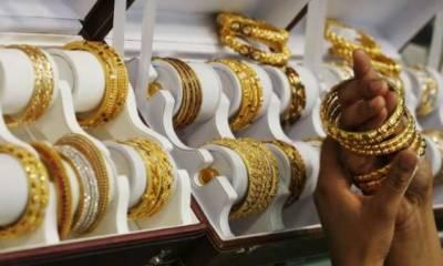 صرافہ مارکیٹ میں سونے کی قیمت میں اضافہ،فی تولہ 450 روپے مہنگا