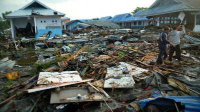 انڈونیشیا میں زلزلے اور سونامی کے نتیجے میں جیلوں سے سینکڑوں قیدی فرار