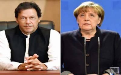 وزیرِ اعظم عمران خان کو جرمن چانسلر کا فون، جرمنی کے دورے کی دعوت دے دی