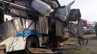 چیچہ وطنی، مسافر بسوں میں تصادم، 2 افراد جاں بحق