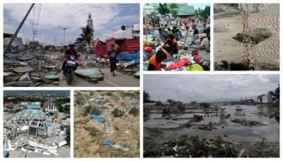انڈونیشیا میں زلزلے اور سونامی سے اموات کی تعداد 1234 تک پہنچ گئی