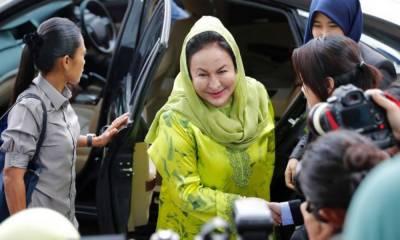ملائشیا کی سابق خاتون اول روسما منصور پر فرد جرم عائد