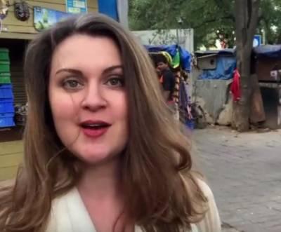 امریکی محکمہ خارجہ کی ترجمان نے اردومیں گانا گا کردل موہ لیے